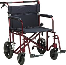 Drive Medical Bariatric transport wheelchair, bariatric transport wheelchair, bariatric companion wheelchair